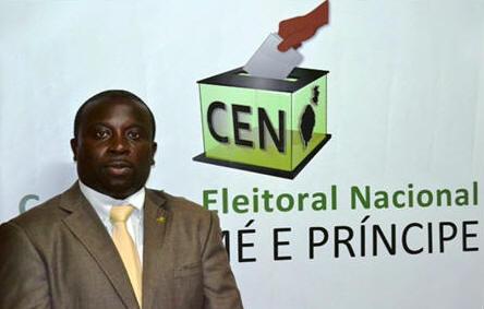 Resultado de imagem para comissão eleitoral nacional de são tomé e príncipe