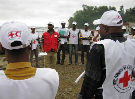 Resultado de imagem para Cruz Vermelha assinala em sao tome e principe